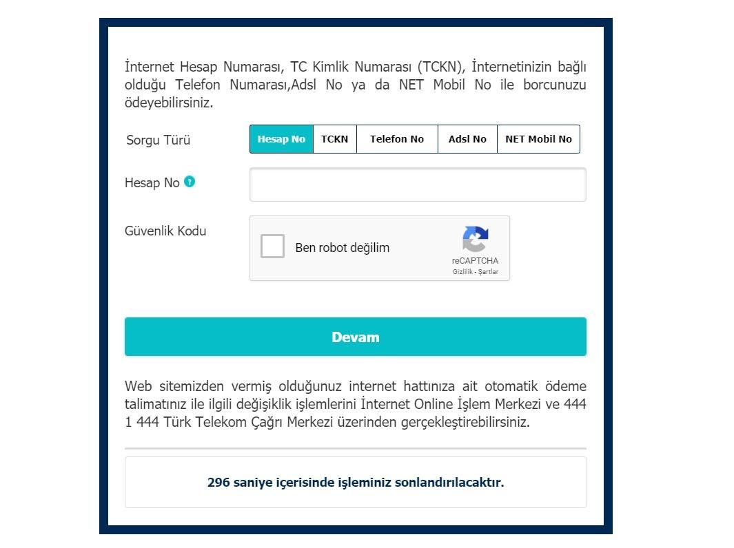 telekom borç sorgulama
