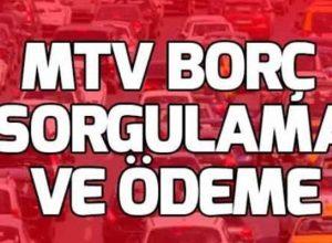 MTV Borç Sorgulama